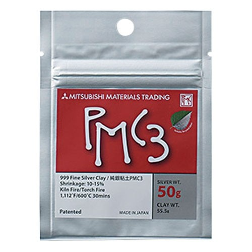 純銀粘土PMC3(600℃焼成タイプ)50g