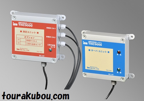 (ISA)窯おんどTHC9000-3R/K