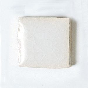 楽焼き色釉薬A(無鉛) 乳白
