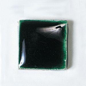 楽焼き色釉薬A(無鉛) 緑