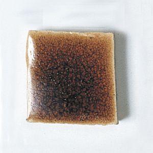 楽焼き色釉薬A(無鉛) 茶