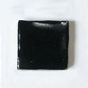 楽焼き色釉薬A(無鉛) 黒