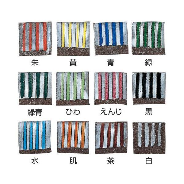 陶芸用下絵の具(楽・本焼き兼用) 12色セット<NEW>