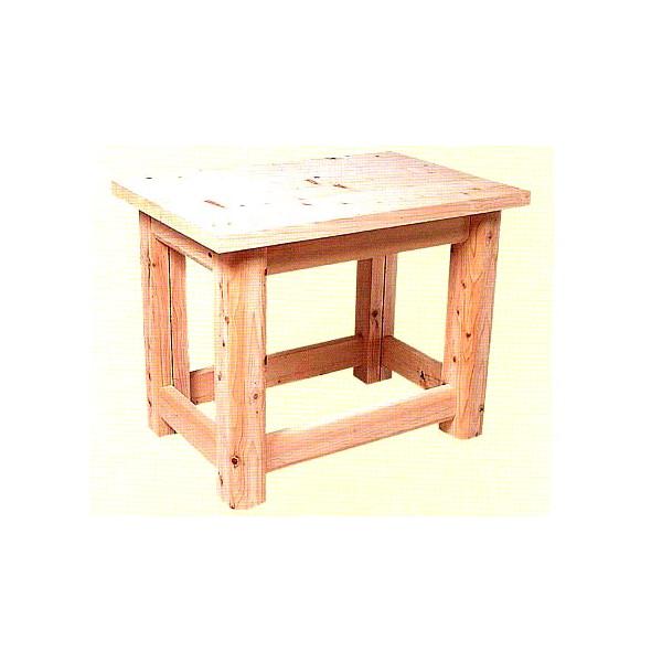 ひのき製土練り作陶台 900型