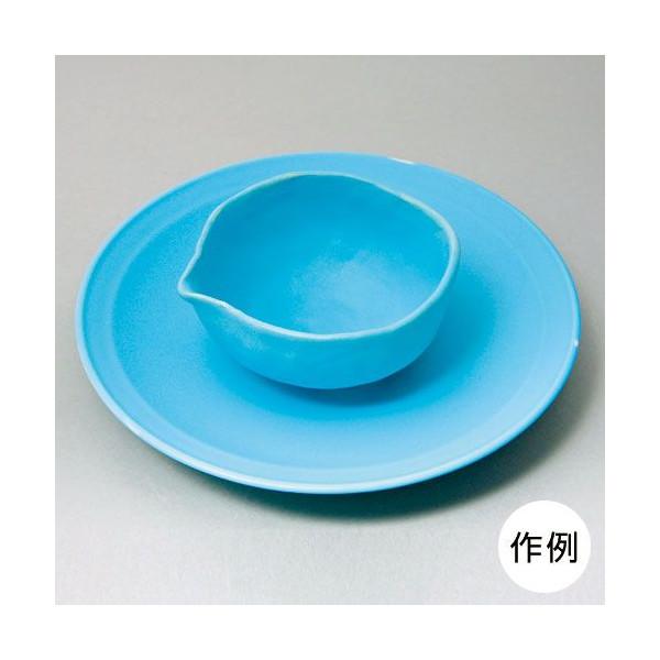 スカイブルーマット釉(粉末1kg)