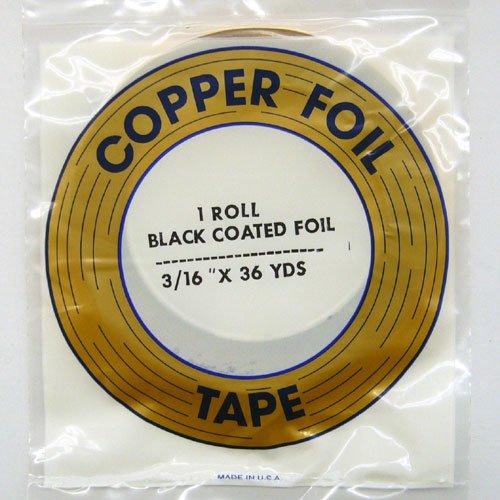 コパーテープ ブラック EB-3/16″(4.8mm)