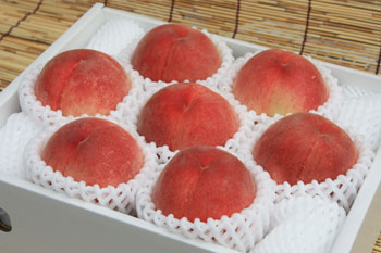 最高級 中生の桃 小箱 (1.8kgk前後) 発送時期 7月上旬~7月下旬  到着日は選べません。