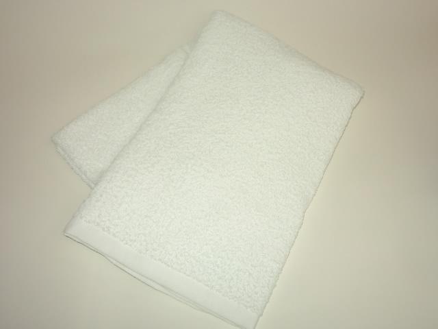 白バスタオル  (800匁)