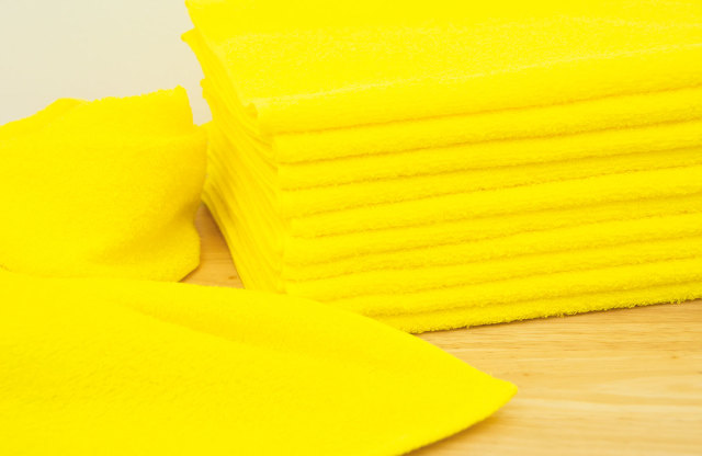 230匁黄色フェイスタオル03