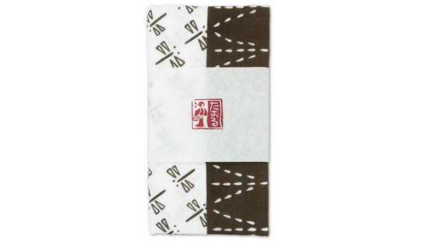 稲とトンボ ガーゼタオル