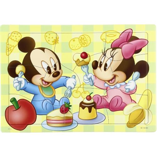 幼児用パズル B4パズル 板パズル チャイルドパズル ピクチュアパズル ピクチャー パズル ディズニー ミッキー ミニー