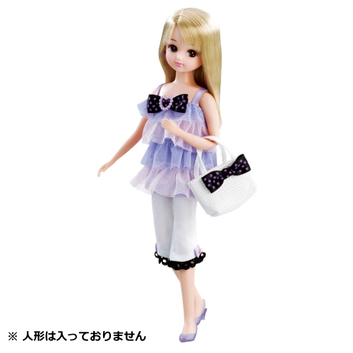 リカちゃん りかちゃん 服 コーディネートセット ライラックミルフィーユ LW-12 女の子に大人気 プレゼントにおすすめ