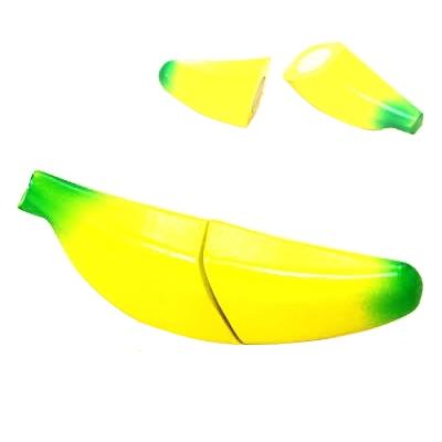 【おもちゃのジャンボ】 木のおもちゃ おままごと 食材 バナナ ミニキッチン 拡張パーツ 木製玩具 通販 販売