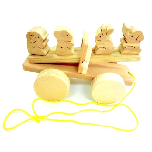 【おもちゃのジャンボ】 木のおもちゃ ぎったんばったん 木製玩具 通販 販売