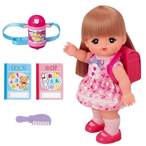 【おもちゃのジャンボ】 ロングヘアのランドセル付き いちねんせいメルちゃん (メルちゃん お人形セット) 通販 販売