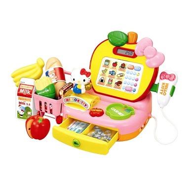 【おもちゃのジャンボ】女児ホビー 「ハローキティ たのしくおかいものアップルレジスター」 ガールズ トイ おもちゃ 通販 販売