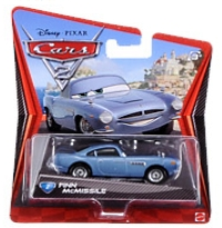 【おもちゃのジャンボ】 カーズ2 キャラクターカーコレクション フィン・マックミサイル ミニカー トミカ 通販 販売