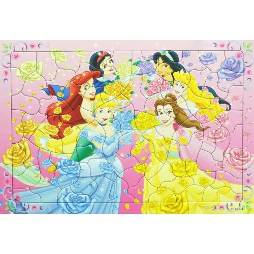 幼児用パズル B4パズル 板パズル チャイルドパズル ピクチュアパズル ピクチャー パズル ディズニー プリンセス