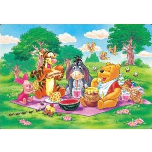 幼児用パズル B4パズル 板パズル チャイルドパズル ピクチュアパズル ピクチャー パズル ディズニー くまのプー