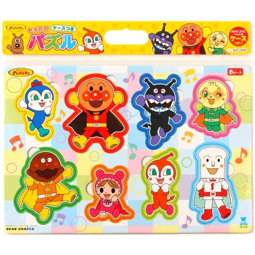 人気のアンパンマンの学べる 遊びパズルが登場。小さなお子様でも遊べる簡単なパズルです。楽しくお勉強できます。