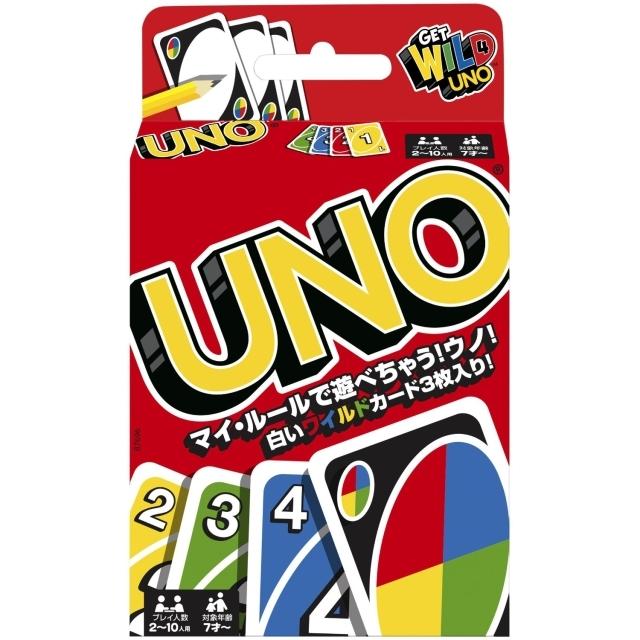 ウノ カードゲーム UNO 【マテル】 (おもちゃ)