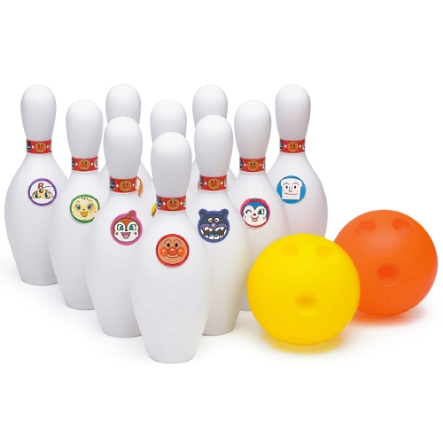 【おもちゃのジャンボ】 アンパンマン ボーリング 軽く柔らかい素材のボーリング遊び 通販 販売