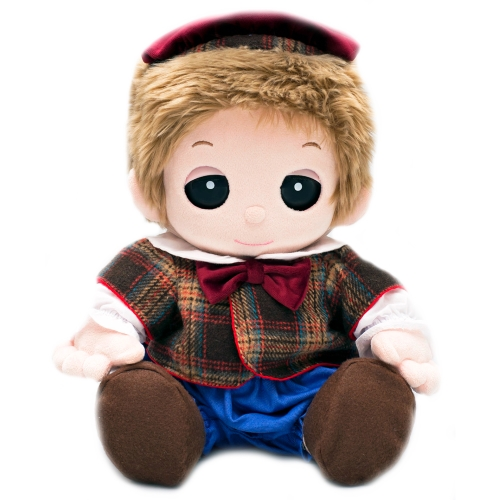 【おもちゃのジャンボ】 ユメル ネルル ミルル 夢の子コレクション44 ベレー帽付きお洋服セット 靴付き (男女兼用) 【おしゃべり人形】