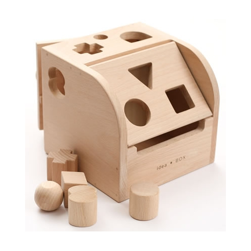 木のおもちゃ アイデアBOX