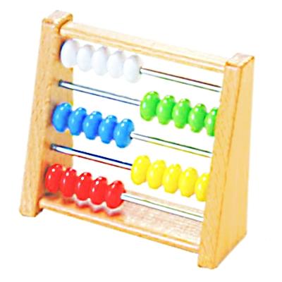 【おもちゃのジャンボ】 木のおもちゃ ミニそろばん (ルーピング・ビーズコースター) 木製玩具 通販 販売