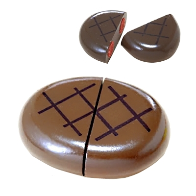 【おもちゃのジャンボ】 木のおもちゃ おままごと 食材 ハンバーグ ミニキッチン 拡張パーツ 木製玩具 通販 販売