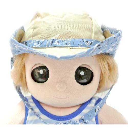 ユメル君・ネルルちゃん・ミルルちゃんのお帽子 ウェスタンハット ブルーが入荷しました。お着換えタイムにお勧めです