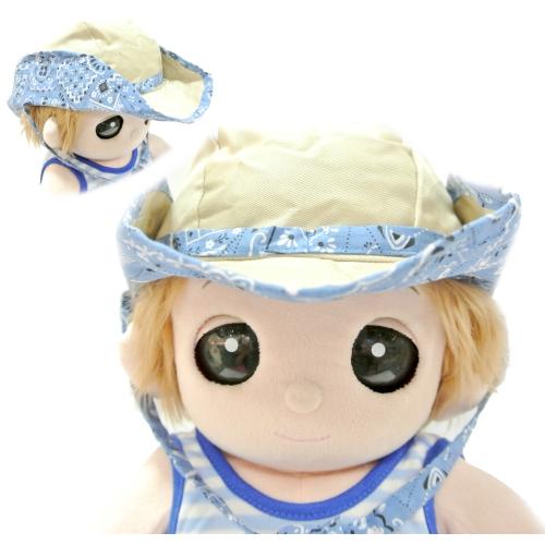 ユメル君・ネルルちゃん・ミルルちゃんのウェスタンハット 帽子 ブルーが登場です。