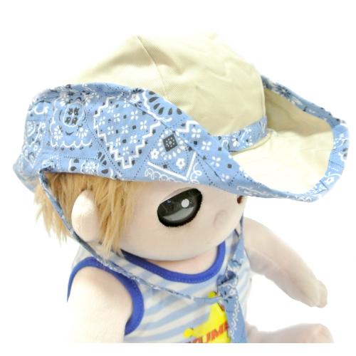 夢の子コレクション 帽子 ウェスタンハット ブルーが発売しました。ユメル君・ネルルちゃん・ミルルちゃんの日差し対策もばっちりです。