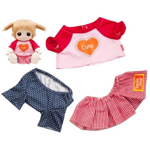 【おもちゃのジャンボ】 夢の子コレクション37 カジュアルウェアセット お洋服 ユメル ネルル ミルル 通販 販売