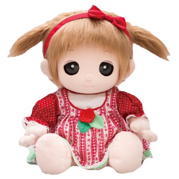 【おもちゃのジャンボ】 ユメル ネルル ミルル 夢の子コレクション43 カントリー風ワンピース カチューシャ パンツ付き お洋服 通販 販売