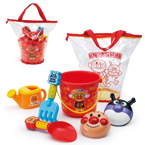 【おもちゃのジャンボ】 アンパンマン カラフルおでかけ砂場セット おすなば 遊び 知育 教育 おもちゃ 通販 販売
