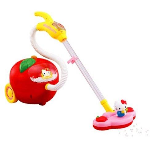 【おもちゃのジャンボ】 女児ホビー 「ハローキティ たのしくおそうじアップルクリーナー」 ガールズトイ 通販・販売