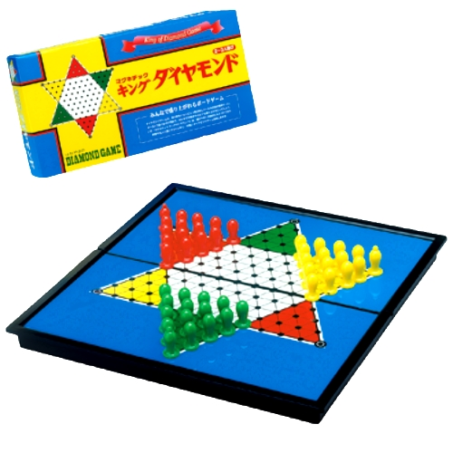 マグネットキング ダイヤモンド 盤が折りたためるタイプ オセロ 収納 ファミリーゲーム ボードゲーム おもちゃ 通販 販売
