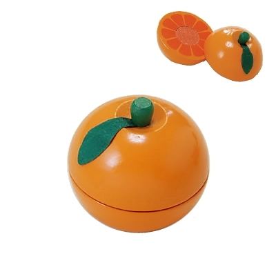 【おもちゃのジャンボ】 木のおもちゃ おままごと 食材 オレンジ ミニキッチン 拡張パーツ 木製玩具 通販 販売