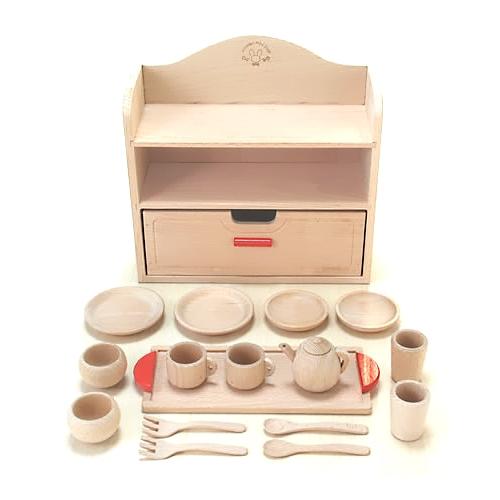 【おもちゃのジャンボ】 木のおもちゃ ミニままごとセット ミニキッチン 食材 調理器具 木製玩具 通販 販売