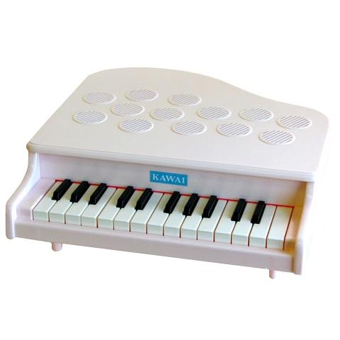 【おもちゃのジャンボ】 河合楽器 ミニピアノ P-25 ピンキッシュホワイト (おもちゃ) 教育 知育 玩具 楽器 通販 販売