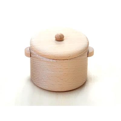 【おもちゃのジャンボ】 木のおもちゃ ミニキッチン ままごと用 鍋 通販 販売