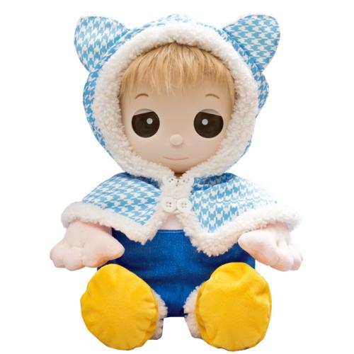 【おもちゃのジャンボ】ユメル ネルル ミルル 夢の子コレクション46 猫耳付きポンチョドレス (男女兼用) 【おしゃべり人形お洋服】