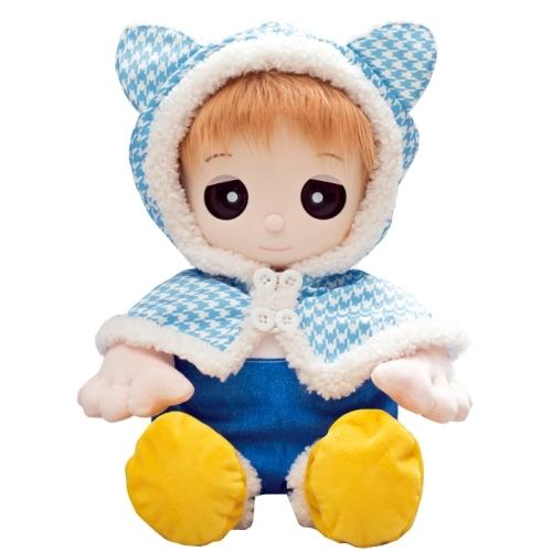 【おもちゃのジャンボ】ユメル ネルル 夢の子コレクション46 猫耳付きポンチョドレス (男女兼用) 【おしゃべり人形お洋服】 通販 販売