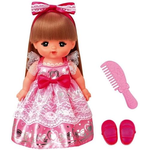 【おもちゃのジャンボ】 ロングヘアのおめかしプリンセスメルちゃん (メルちゃん お人形セット) お人形遊び 通販 販売
