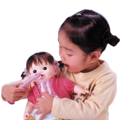 ぽぽちゃん おしゃべり 歯ブラシ ポポちゃん ピープル やさしい 心 芽生える おもちゃ 通販 販売