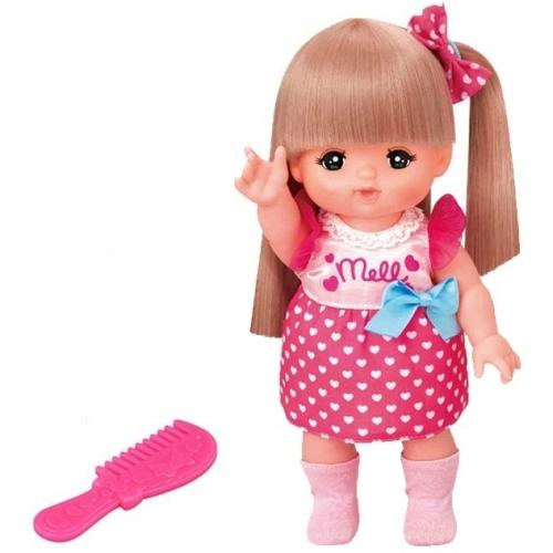 【おもちゃのジャンボ】 ロングヘアのおしゃれヘアメルちゃん (メルちゃん お人形セット) お人形遊び 通販 販売