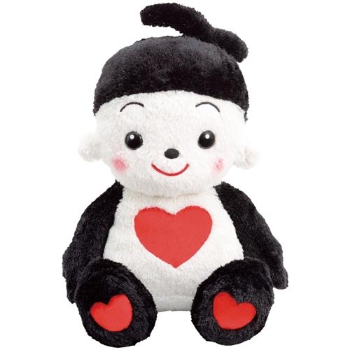 """=""""【おもちゃのジャンボ】 ハートそだつよ! プリモプエル くろ おしゃべり 人形 お洋服 プリモフレンズ 通販 販売"""