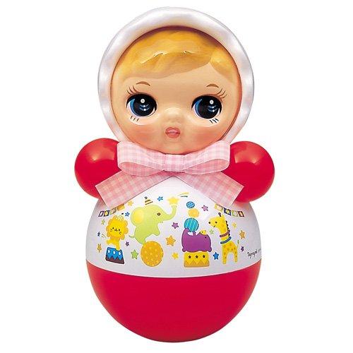 【おもちゃのジャンボ】 おきあがりポロンちゃん 27cm (おきあがりこぼし) ロングセラー ベビー 赤ちゃん おもちゃ 通販 販売