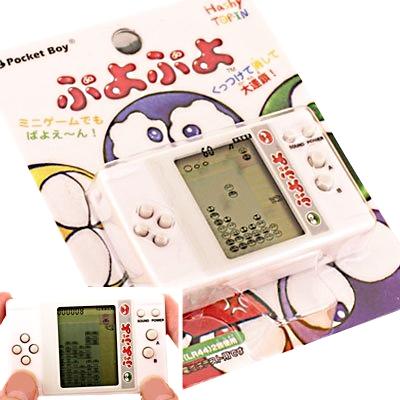 【おもちゃのジャンボ】 ぷよぷよ (ミニ液晶ゲーム) テトリス ポケットボーイ リハビリ 福祉 学習 玩具 通販 販売